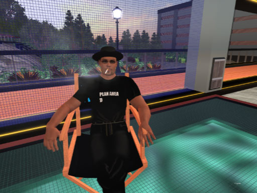 CodeWarrior Carling in Second Life