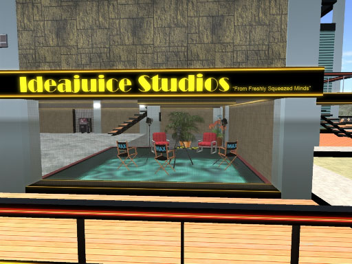 Ideajuice Studios Building in Second Life