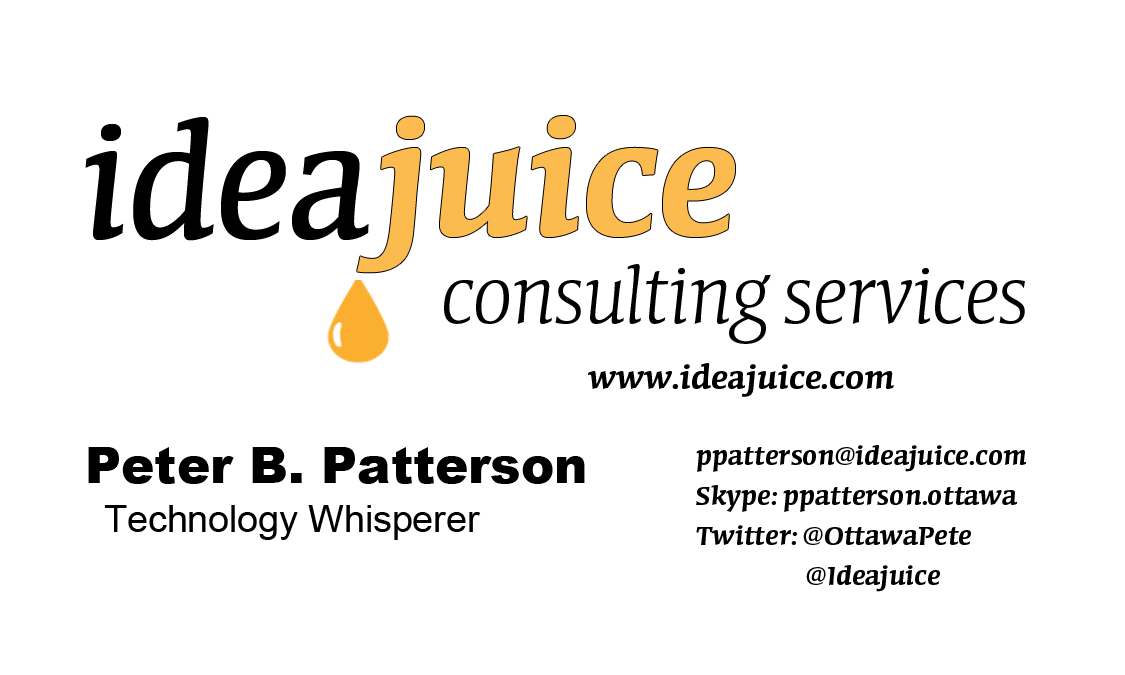 Ideajuice Consulting Business Card